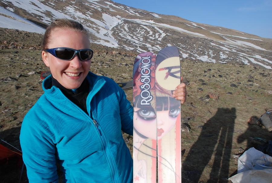 Мои боевые лыжики :)