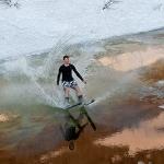 Из зимы на лыжах в лето