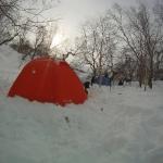 Утро в лагере