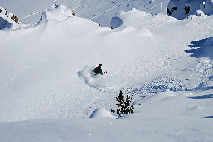 Freeride Montgenevre / France