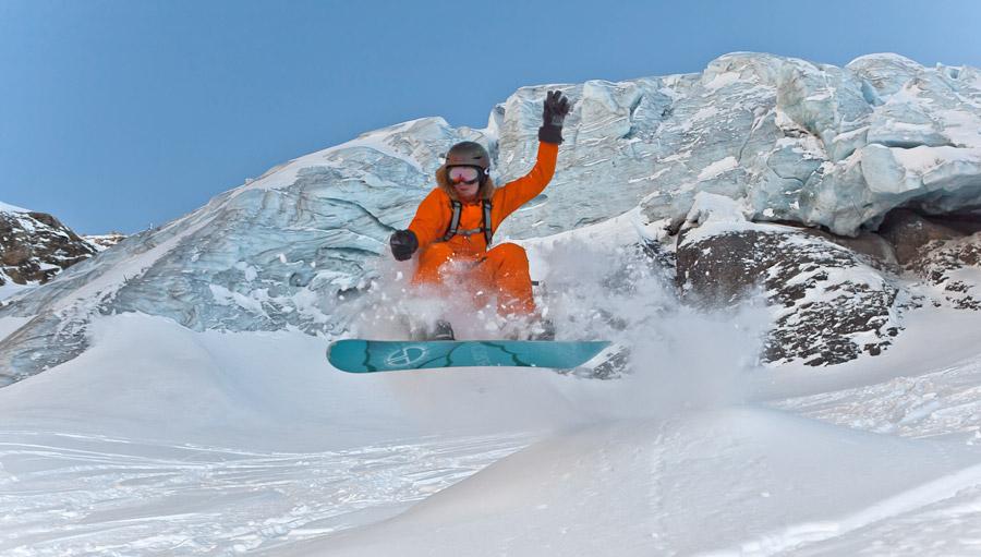 Энгельберг, ледник