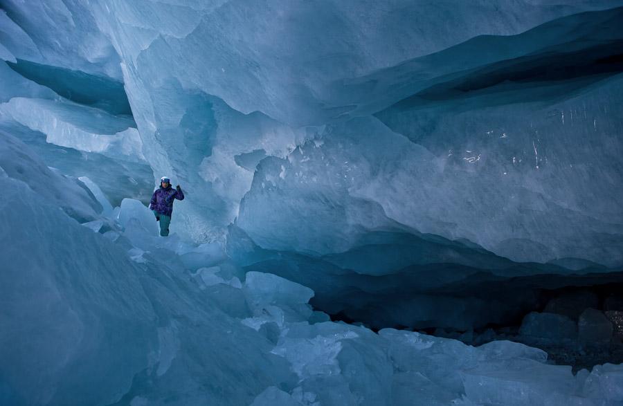 ледник в Санкт Морице