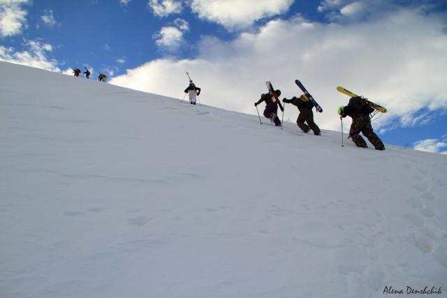 Камчатка горные лыжи