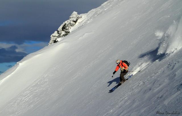 skiing Kamchatka