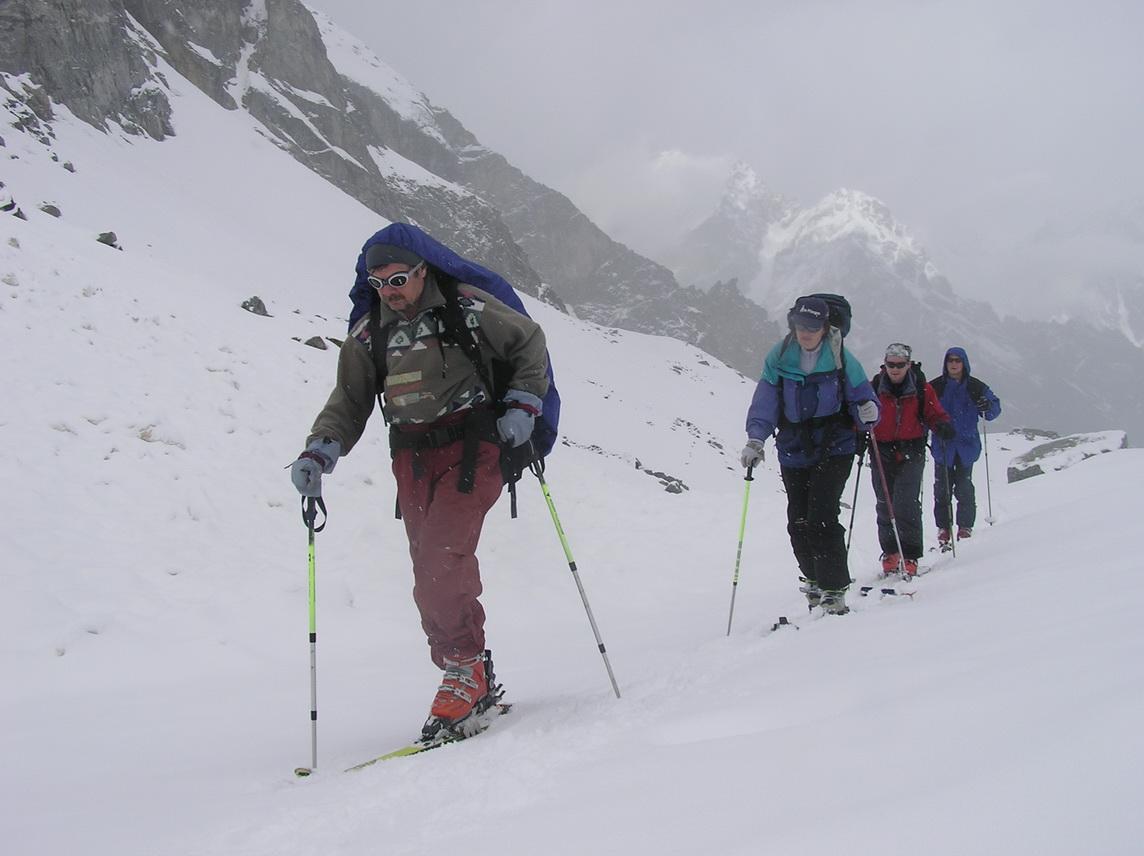 Подъем на ски-туре
