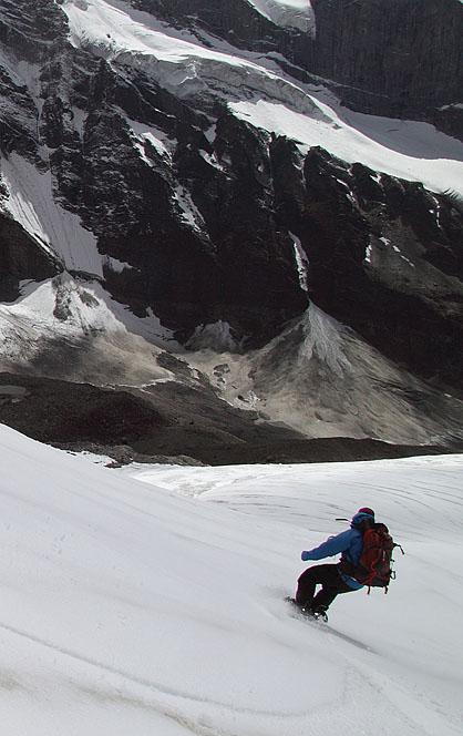 Сноуборд в Гималаях