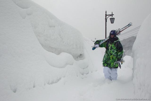 Горные лыжи в Японии