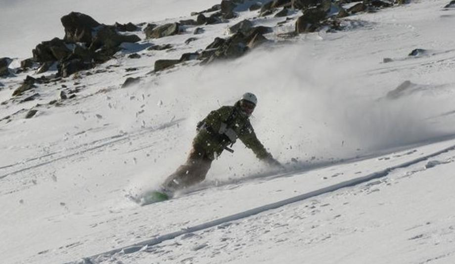 Сноуборд в Гульмарге (Индия)