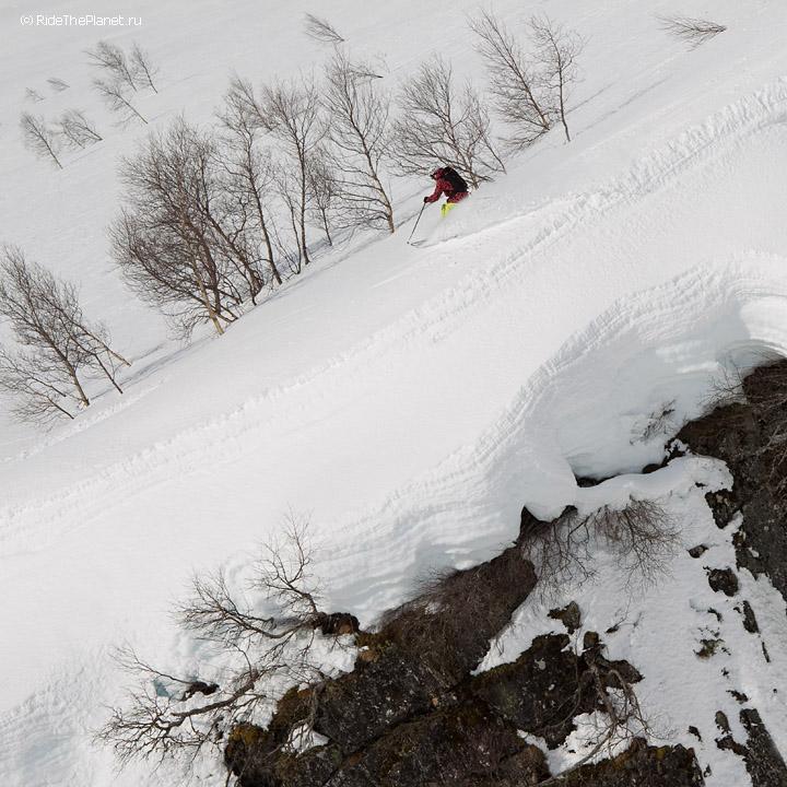 Горные лыжи в Норвегии