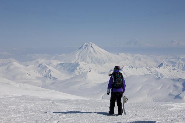 Аня Орлова на Камчатке