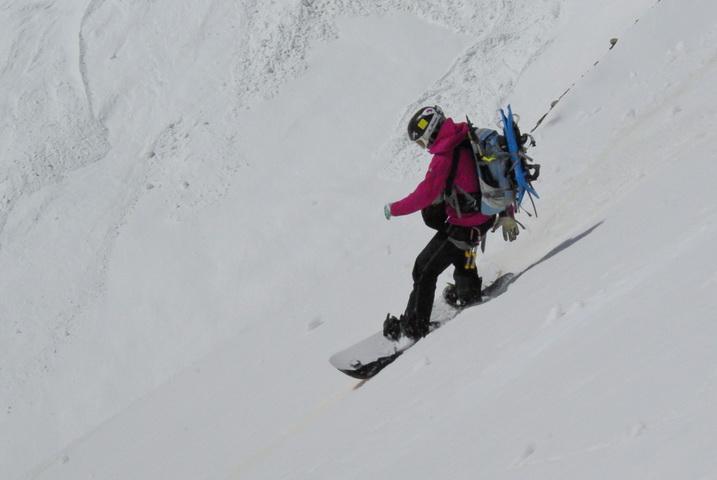 Сноуборд в Безенги
