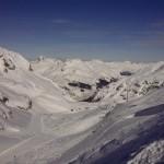 Курорт Lech, 18 февраля. Крайне нестабильный снег