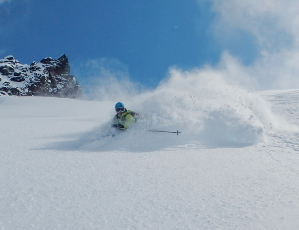 Лыжный гид Григорий Минцев
