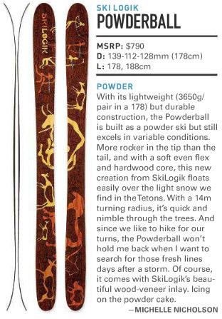 skilogik powderball