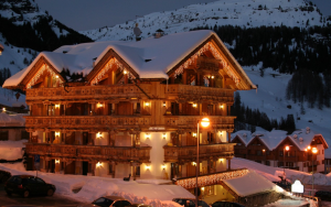 Строим дом на горнолыжном курорте