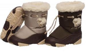 Выбираем детскую обувь для горнолыжного курорта на VRASMER.RU