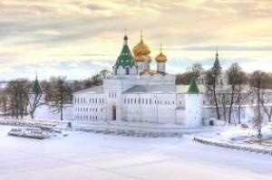 Зимнее путешествие в Кострому не уступает горнолыжным курортам