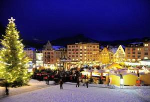 Новый год на горнолыжном курорте