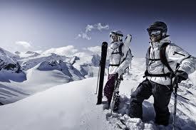 Все необходимое снаряжение для горнолыжного курорта