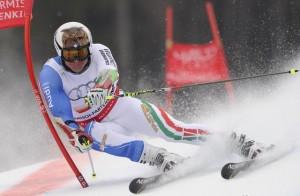 Подготовка к соревнованиям по горнолыжному спорту