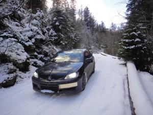 Путешествие в Буковель на автомобиле