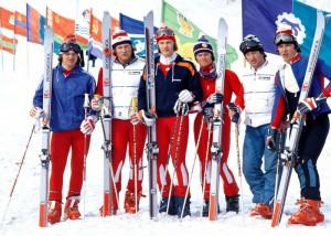 Спортивная подготовка горнолыжников