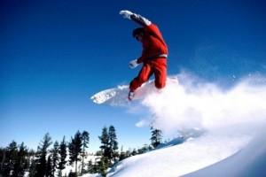 Некоторые трюки сноубординга