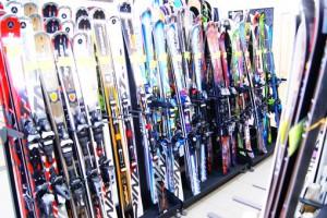 Выбор подходящей пары лыж