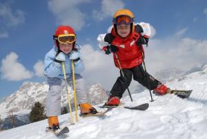 Кататься на лыжах нужно осторожно