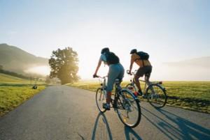 Прогулки на велосипедах в пользу здоровью