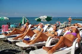 Молодежный отдых на Азовском море