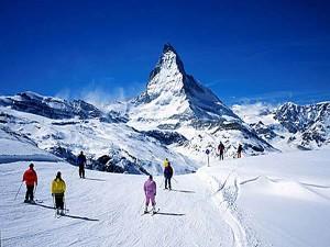 ТОП-5 лучших горнолыжных курортов Швейцарии