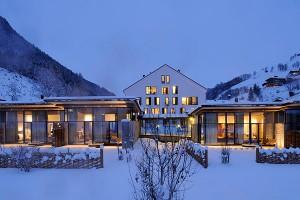 Современный горнолыжный отель
