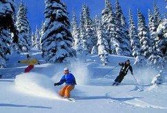 Зимний горнолыжный туризм.